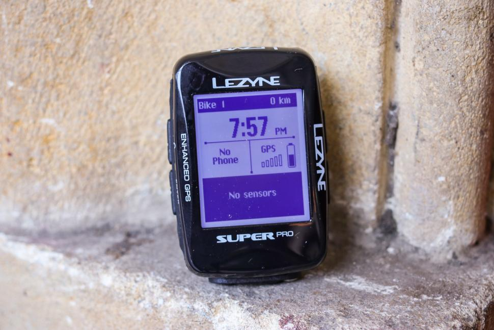 Review: Lezyne Super Pro GPS cycling computer | road cc