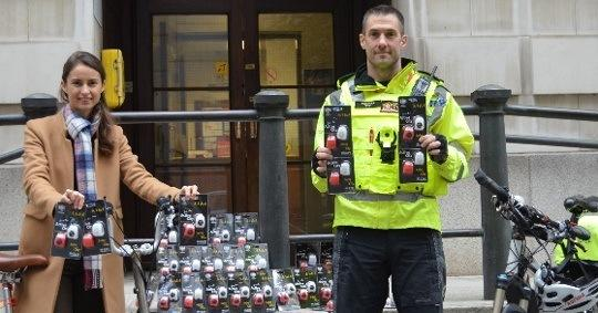 Trick or treat? City of London Police handing out free bike