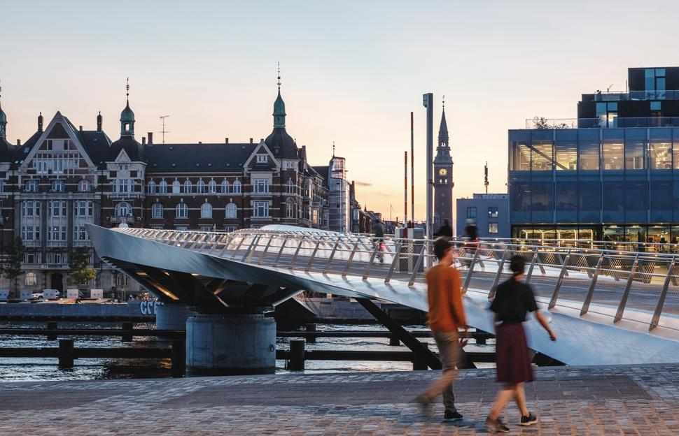 Copenhagen's gorgeous new cycling bridge