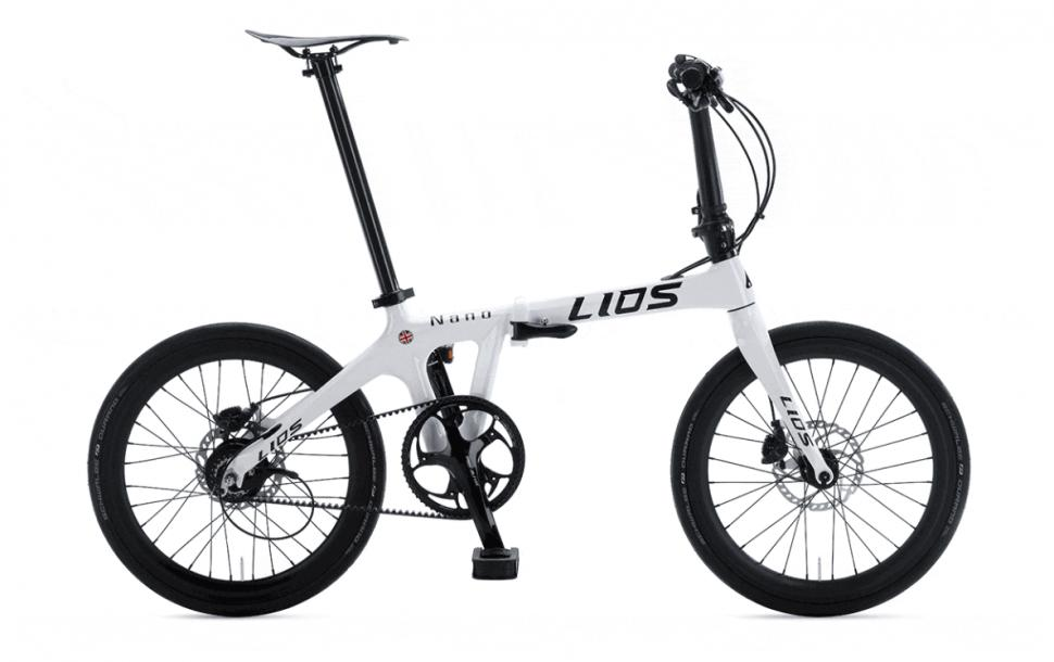 Is This Carbon Lios Nano The Lightest Folding Bike In The