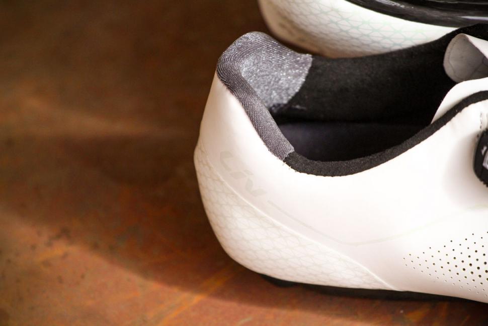 Liv Macha Pro road shoes - heel detail