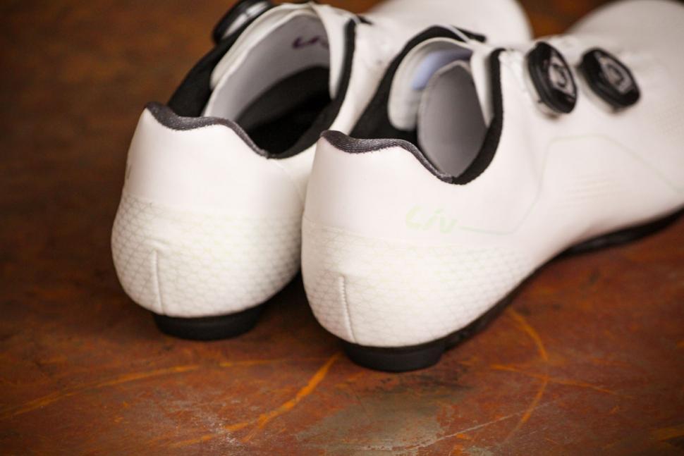 Liv Macha Pro road shoes - heels