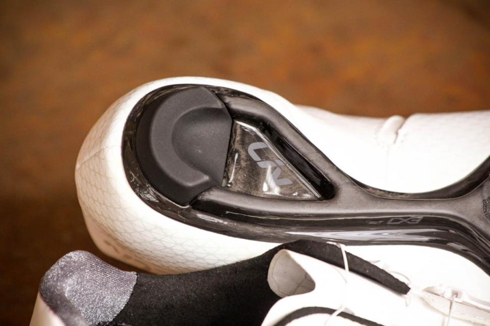 Liv Macha Pro road shoes - sole heel