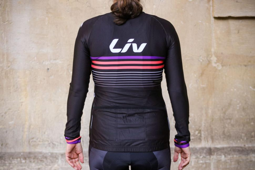 Liv Race Day Mid-Thermal Long Sleeve Jersey - back.jpg