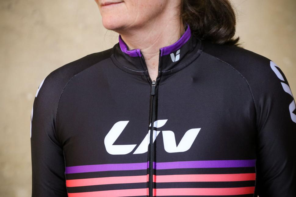 Liv Race Day Mid-Thermal Long Sleeve Jersey - chest.jpg