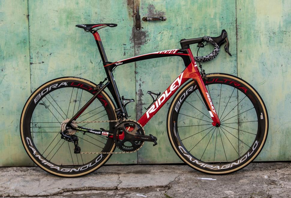 Pro Bikes  Lotto–Soudal s Ridley Noah Fast with Campagnolo Super Record EPS  12-speed groupset 3df13038b