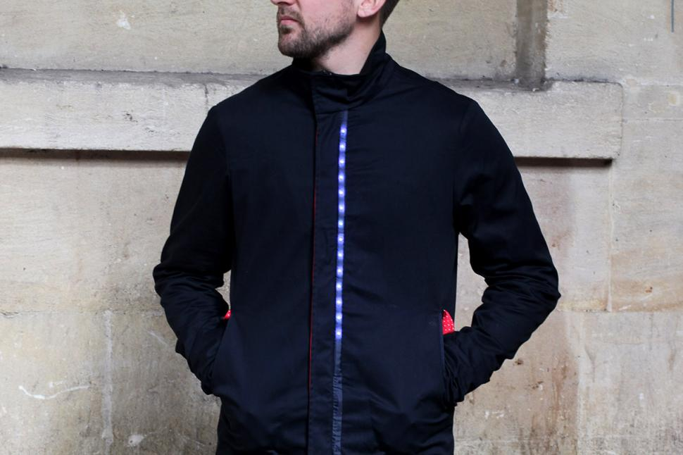 Lumo Herne Hill Harrington Jacket - lit up.jpg