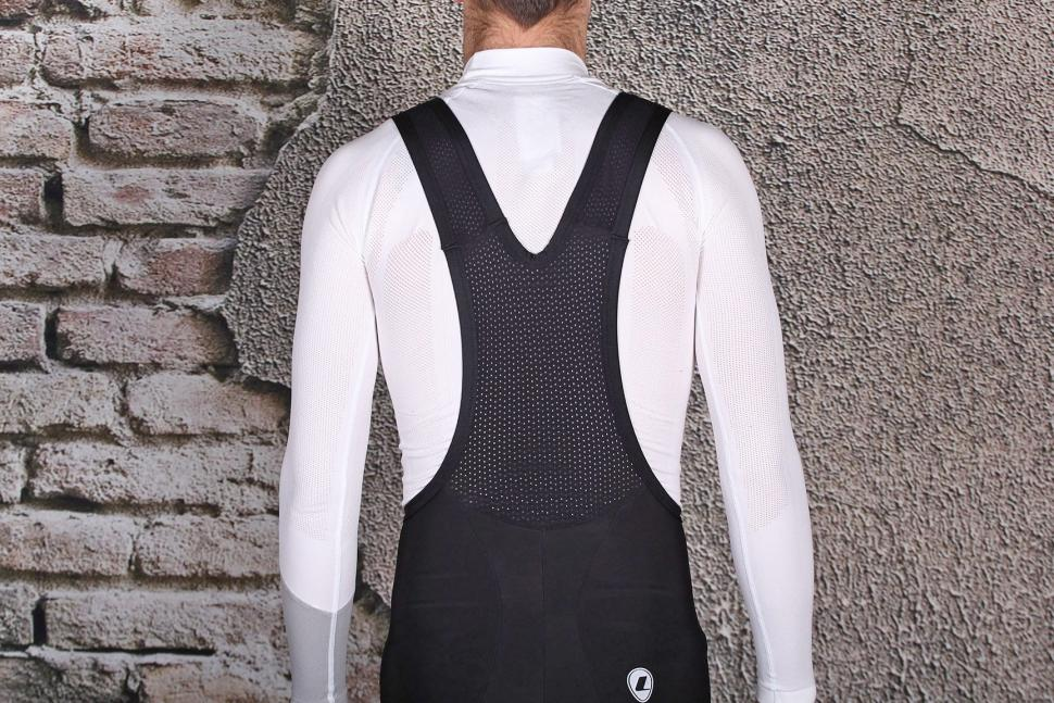 Lusso 2-Zero Thermal Bib Shorts - straps back.jpg
