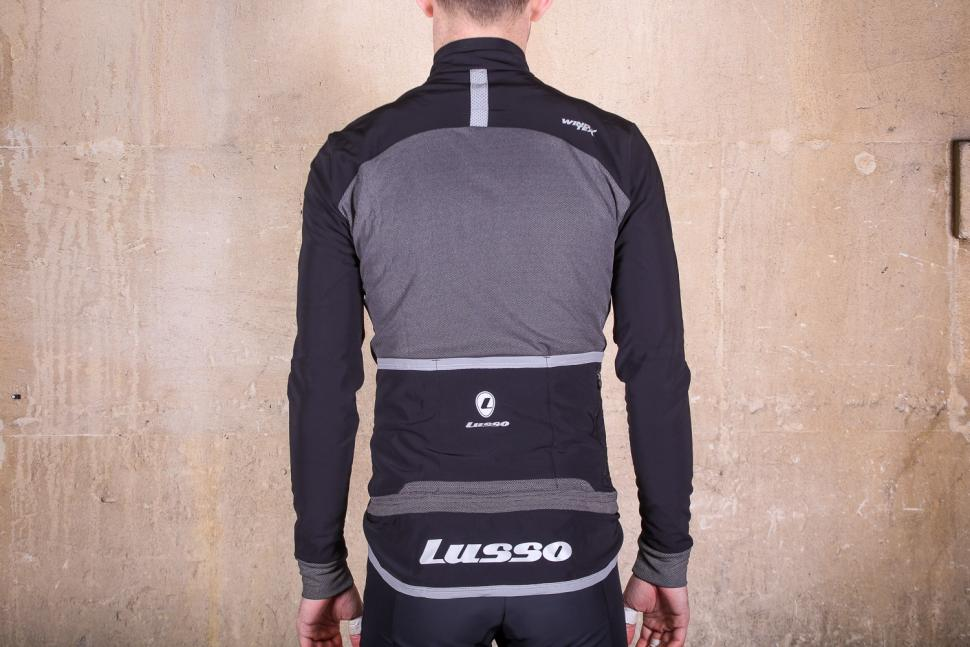 Lusso Mens Aqua Extreme Black V2 Jacket - back.jpg