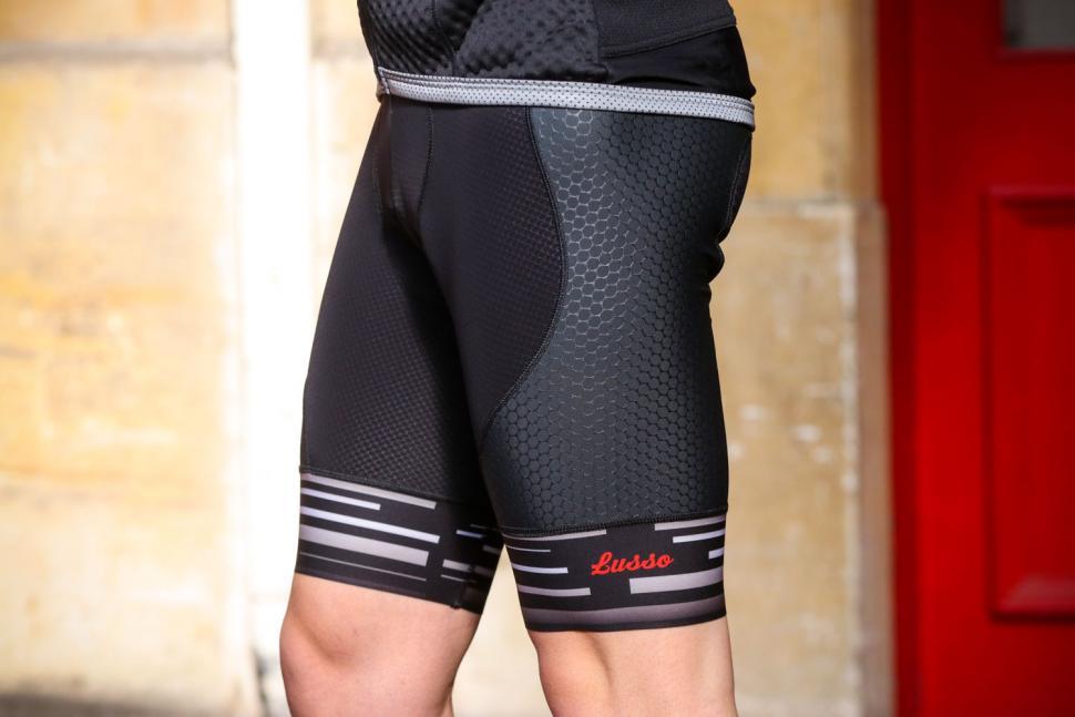 Lusso Synergy Bib Shorts - side