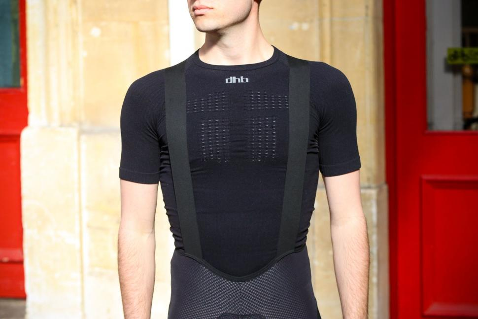 Lusso Synergy Bib Shorts - straps front