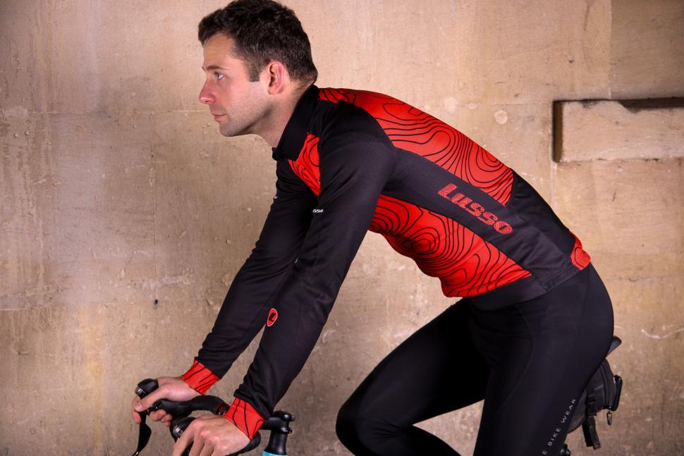 Lusso Terrain LS Jersey - riding.jpg