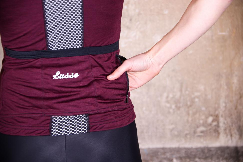 Lusso Womens Merino Plum Jersey - pocket zipped.jpg