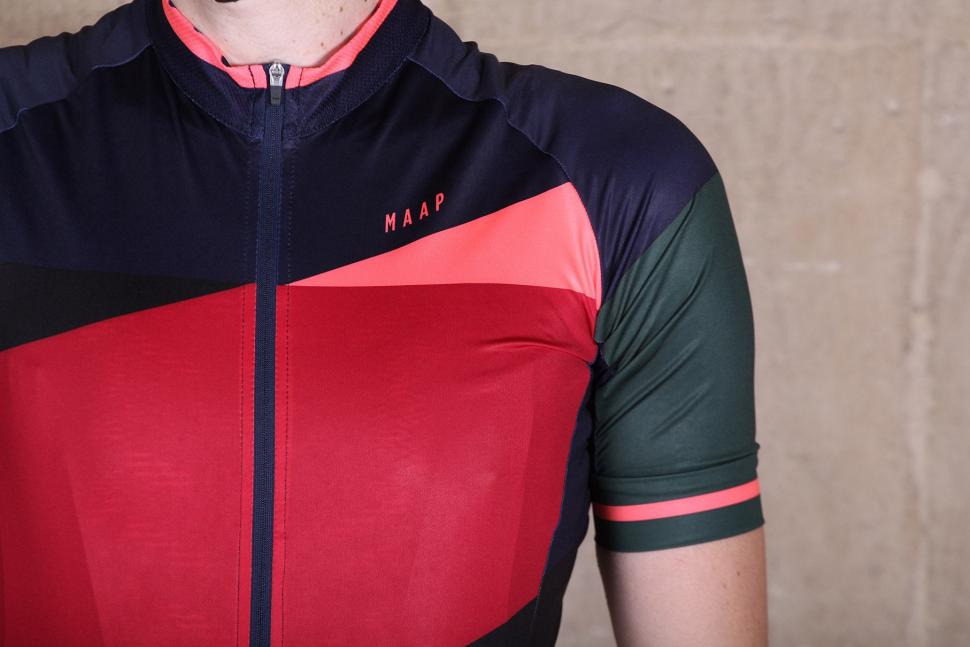 c07fe932c MAAP Blaze Team Short Sleeve Jersey - chest.jpg