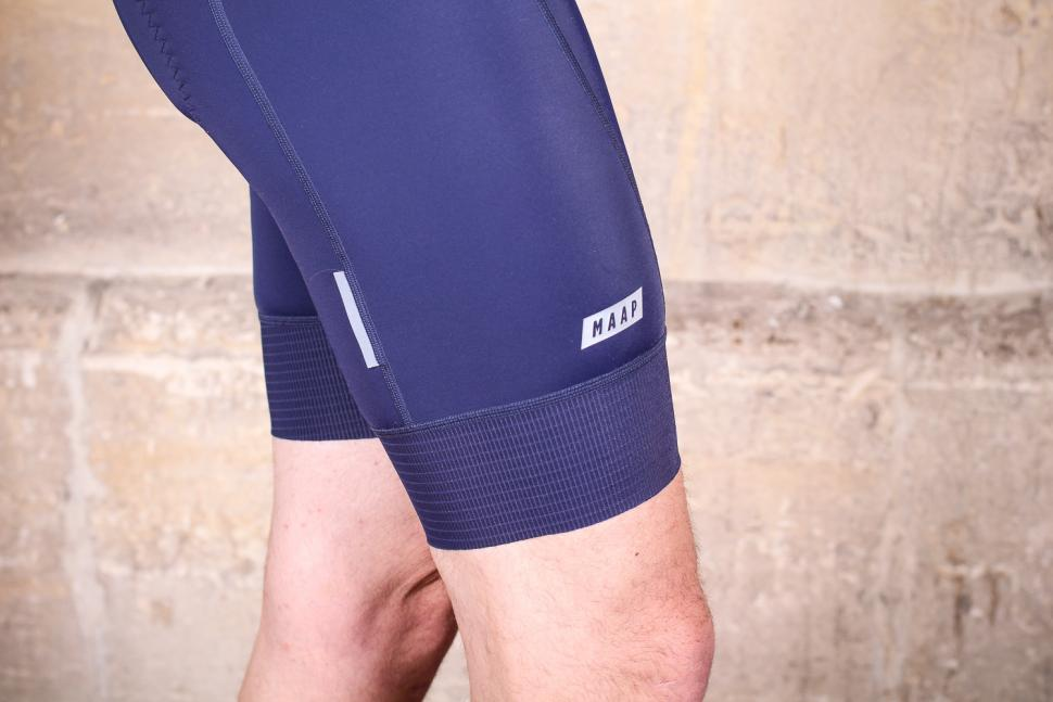 MAAP Team 2.0 bib shorts - cuff.jpg
