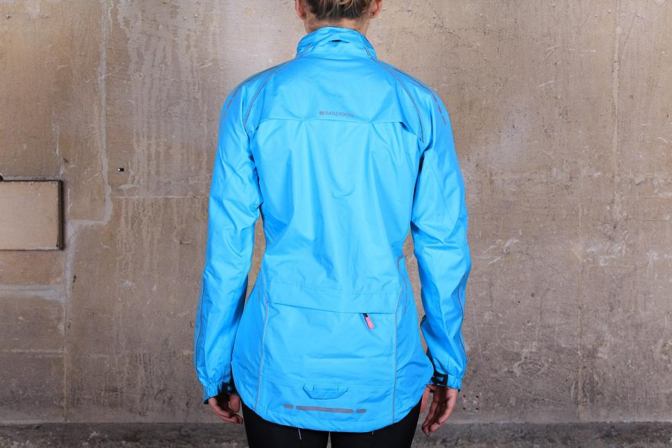Madison Prima Womens waterproof jacket - back.jpg