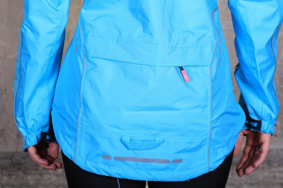 Madison Prima Womens waterproof jacket - tail.jpg