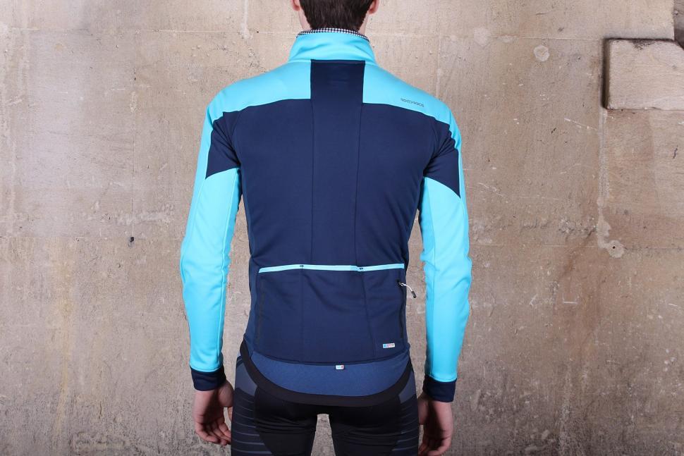 Madison RoadRace Apex Mens Softshell Jacket - back.jpg