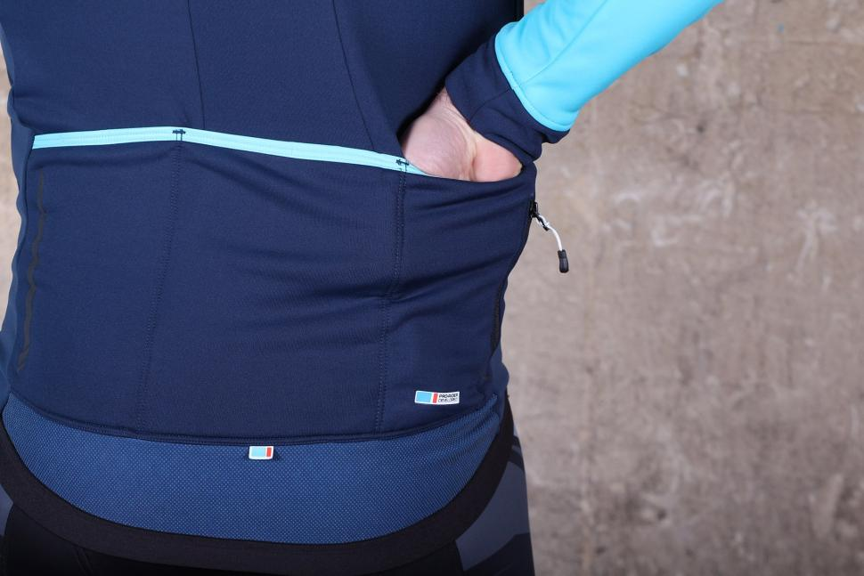 Madison RoadRace Apex Mens Softshell Jacket - pocket.jpg