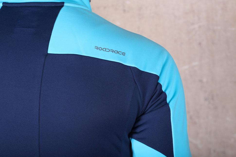 Madison RoadRace Apex Mens Softshell Jacket - shoulder detail.jpg
