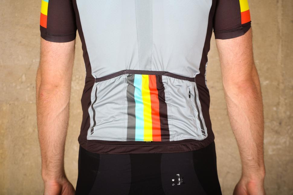 Black Madison Road Race Light Short Sleeve Mens Cycling Jersey