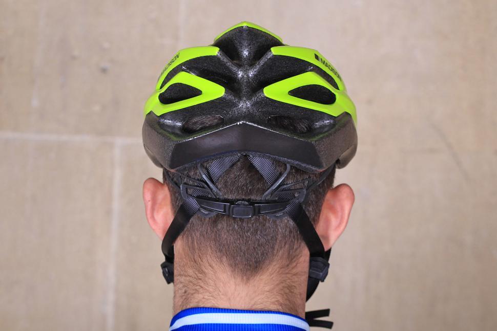 Madison Tour Flash Yellow Helmet - back.jpg
