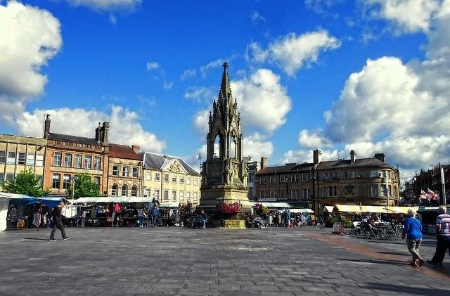 Mansfield Market Square (CC licensed by DncnH via Flickr).jpg