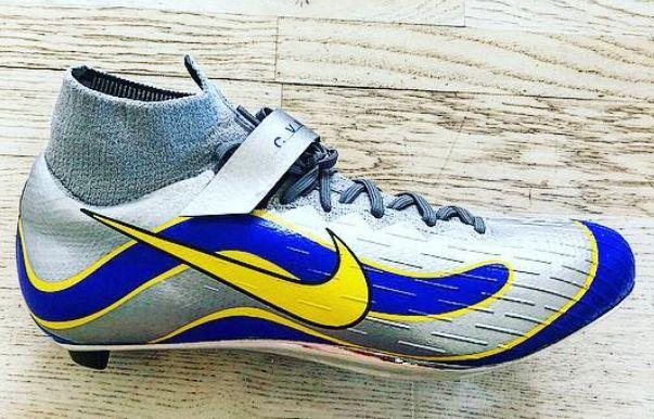 7a2c0285b Mark Cavendish s Tour de France shoes inspired by Brazil football ...