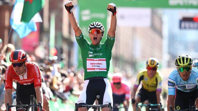Mathieu van der Poel wins the 2019 Tour of Britain (picture credit SWPix.com)