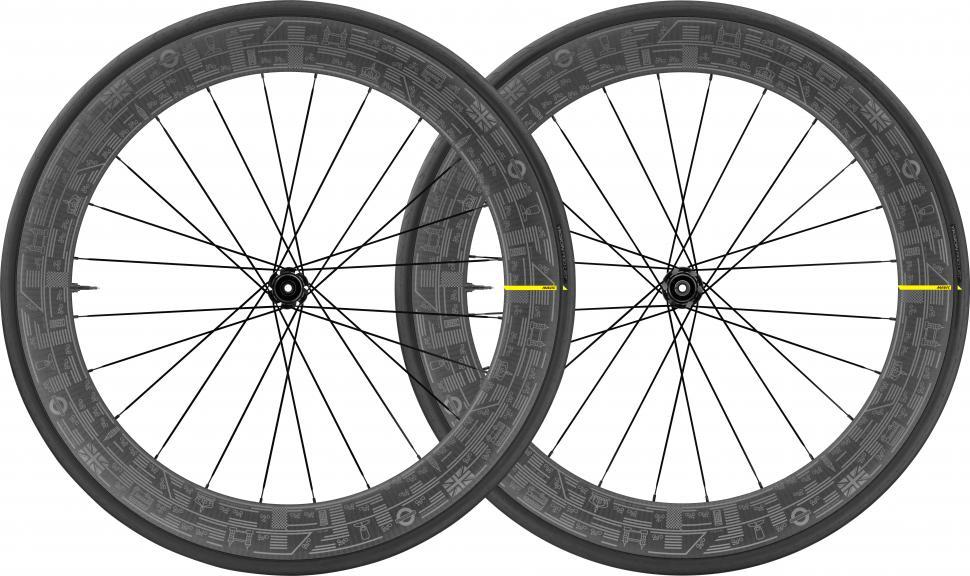 Mavic COMETE PRO CARBON UST DISC LONDON wheelset