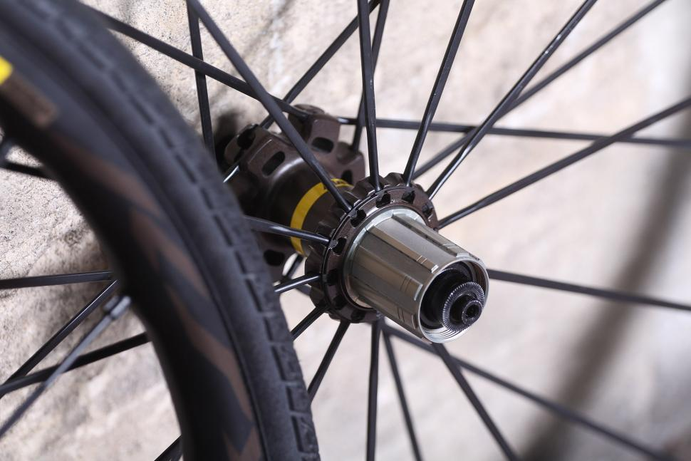 Mavic Ksyrium Pro Disc All Road wheelset - rear hub.jpg