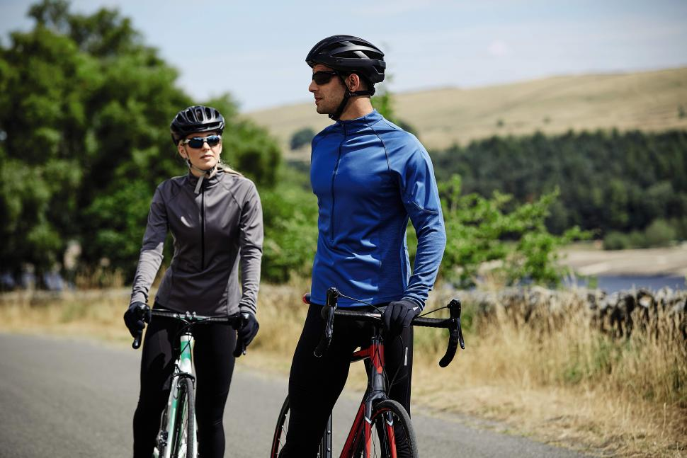 Mens Ladies Cycling Wind Jersey With Merino (2)