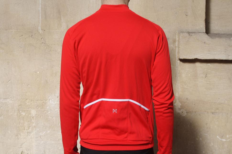 Merlin Core Long Sleeved Cycling Jersey - back.jpg