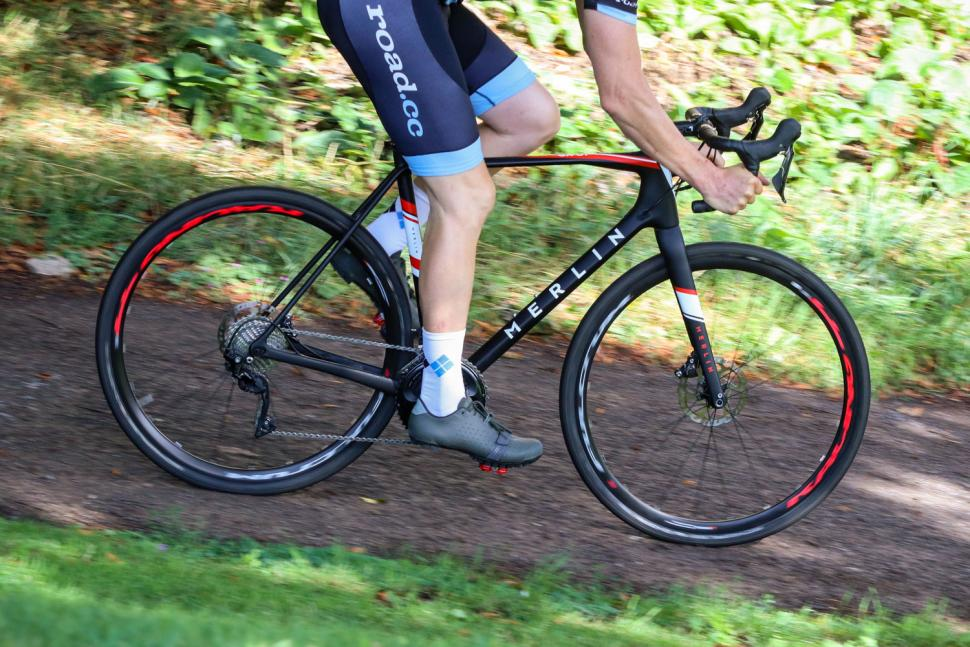 Merlin GX-01 Shimano 105 R7000 Carbon Gravel Bike - riding 3.jpg