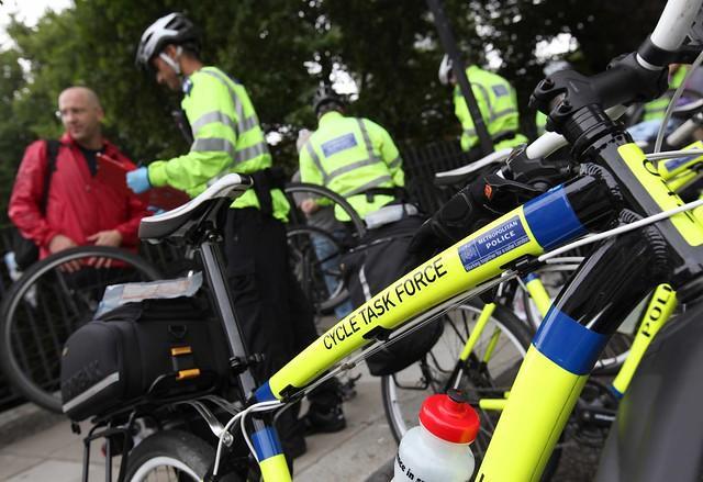 Met Cycle Task Force bike (copyright Transport for London)