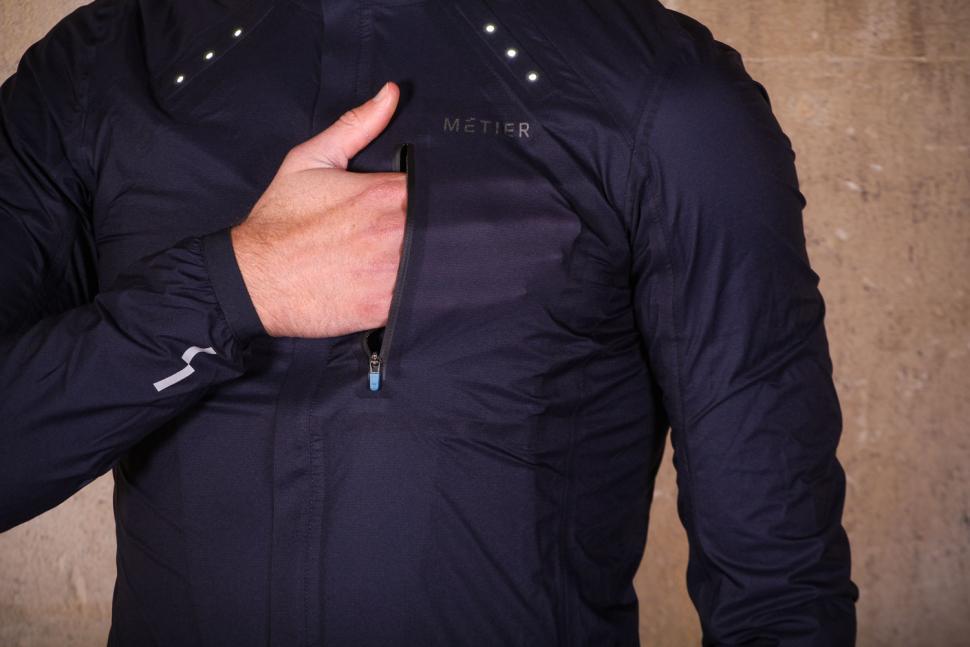 Metier Beacon Rain Jacket - chest pocket.jpg