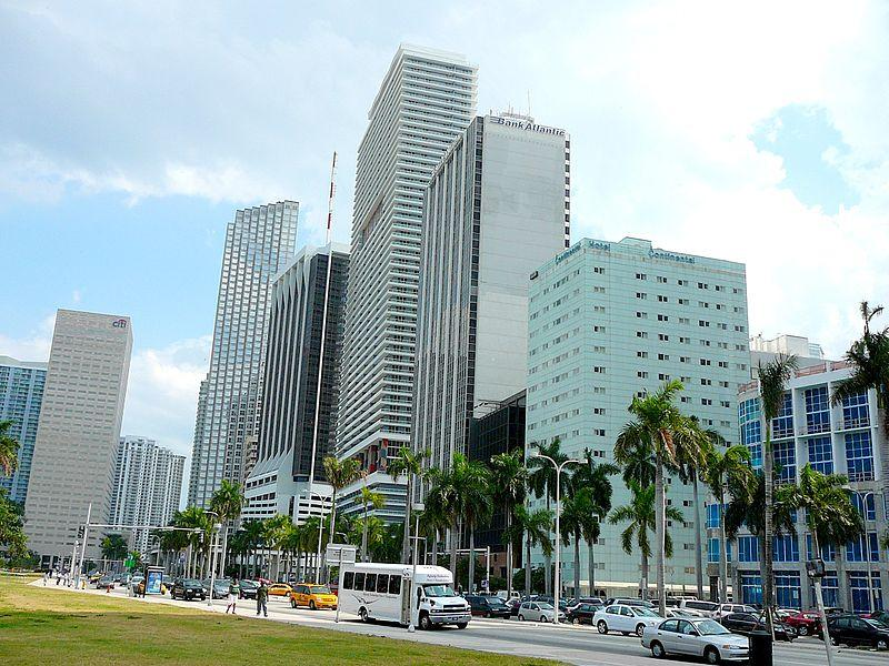 Miami Biscayne_Boulevard_south_end