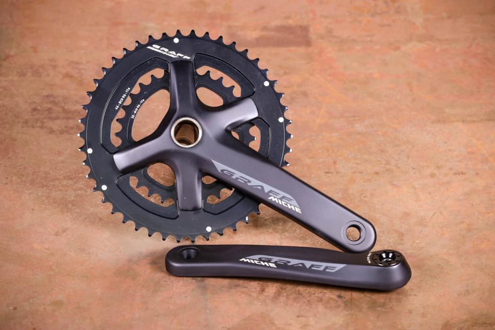 Bike Crankset 46 x 170 Crank aluminium bike