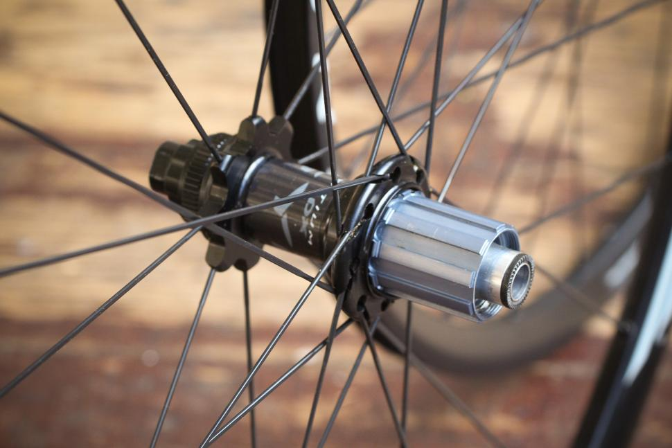 Miche Syntium AXY Disc Black Wheels - rear hub.jpg