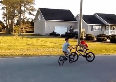 Moment before kids crash on BMX bikes (Instagram still).PNG