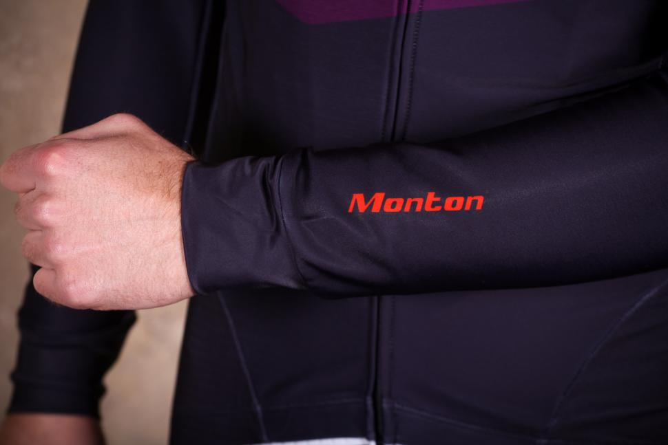 Monton Revo Rock Orange Thermal Jersey - sleeve.jpg