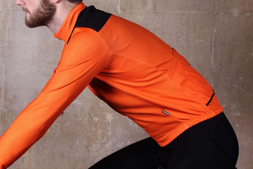 dad2dc3df Morvelo Bloc Orange Thermoactive Jersey - riding.jpg
