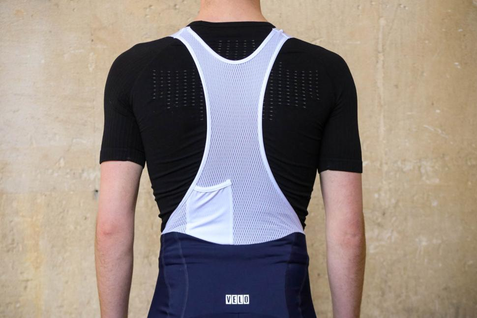 Neon Velo Pro Fit Bib Shorts - straps back.jpg