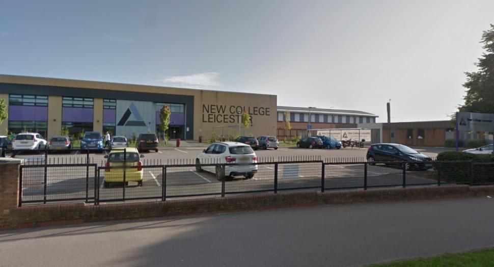 New College Leicester (via StreetView)