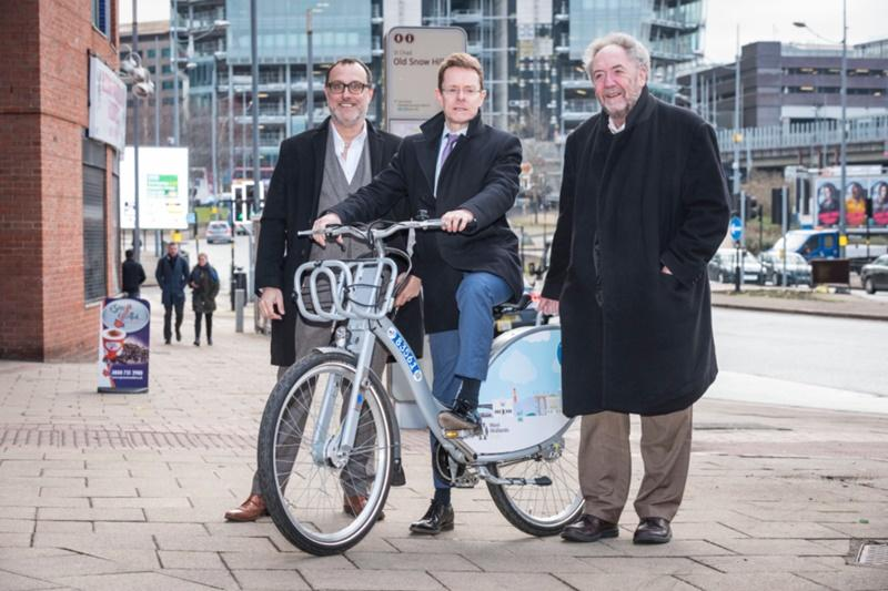 Nextbike West Midlands launch (Nextbike)