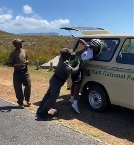 Dlamini's arm broken in altercation with park rangers