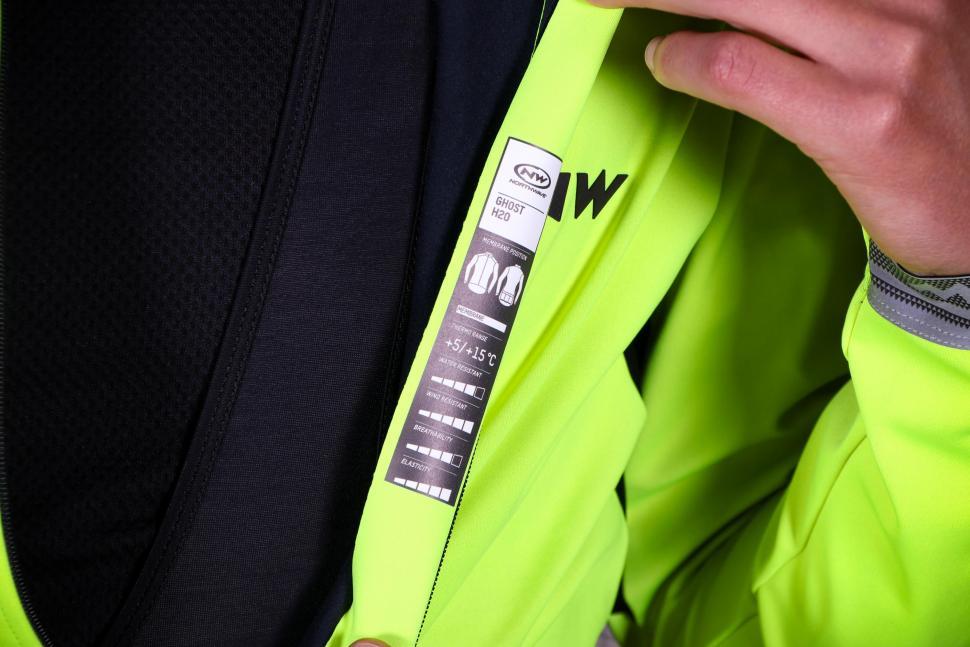 Northwave Ghost H2O Water Repellent Jacket - detail.jpg