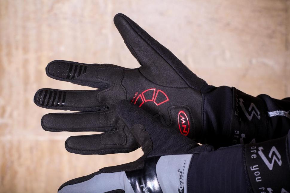 Northwave Sonic Full Gloves Reflective - palm.jpg
