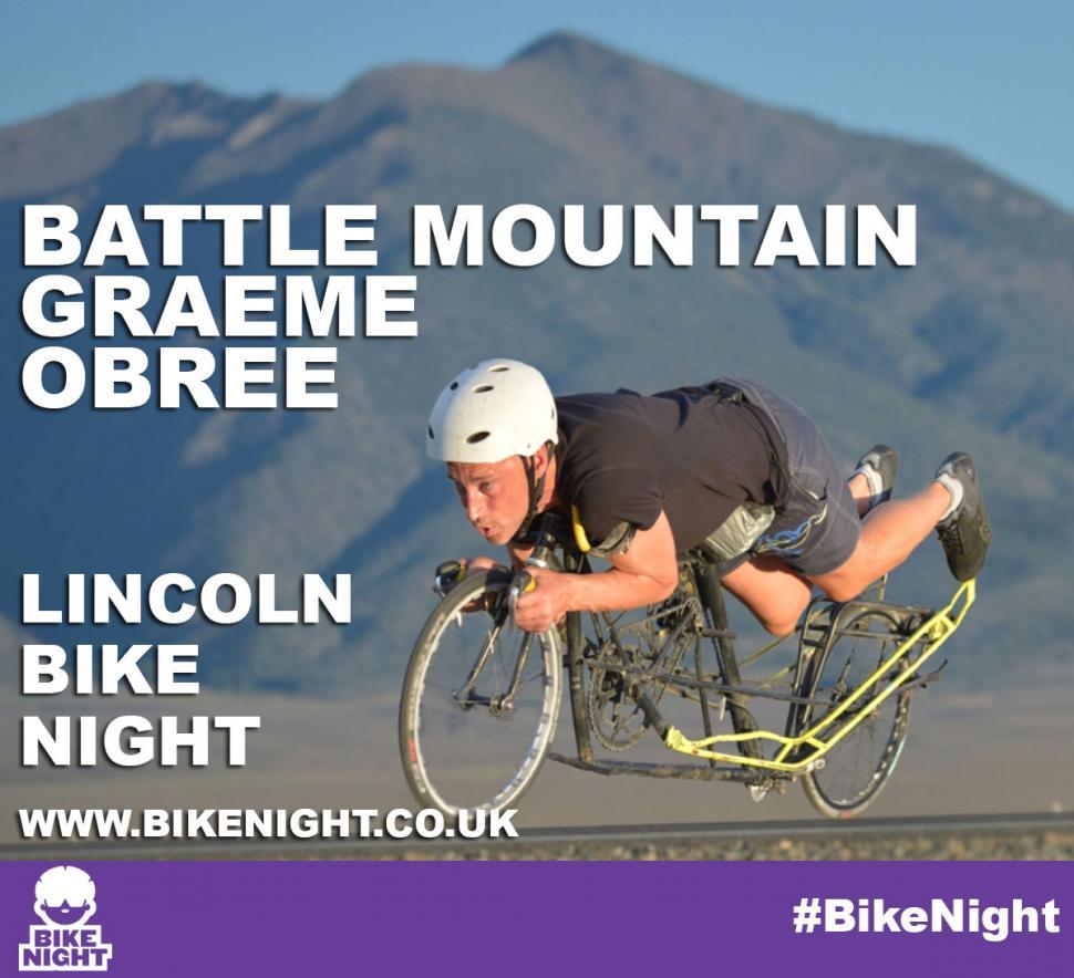 Graeme Obree at Lincoln Bike Night