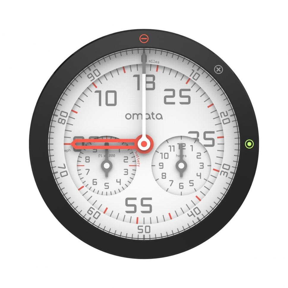 Introducing Omata, the first analogue GPS speedometer | road cc